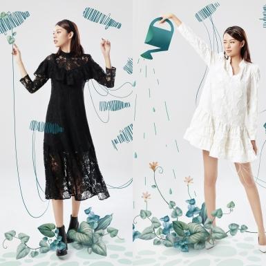Phí Phương Anh xinh xắn trong những thiết kế làm từ chất liệu tái chế của H&M