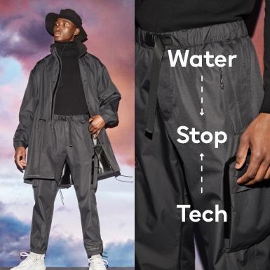 """H&M giới thiệu """"trợ thủ"""" đắc lực trong mùa mưa với công nghệ Water Stop Tech"""
