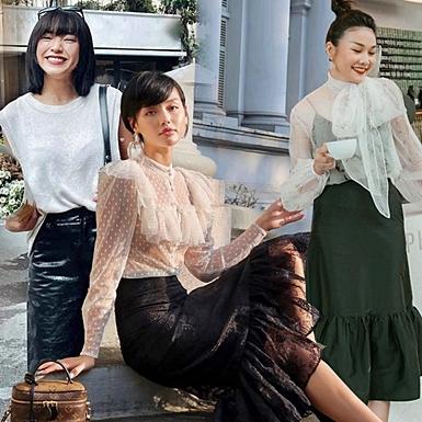 """Trang phục đen trắng """"thống trị"""" street style sao Việt tuần qua"""