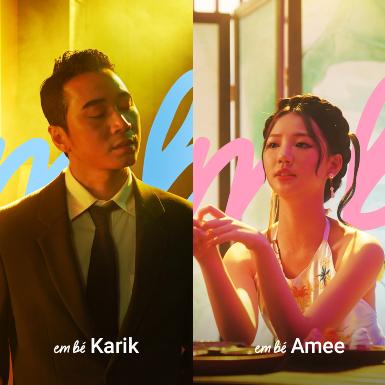 """Hit mới """"Em bé"""" của HLV Rap Việt Karik và Amee khiến hội chị em hạnh phúc tận trời mây vì nói hộ tiếng lòng bấy lâu"""