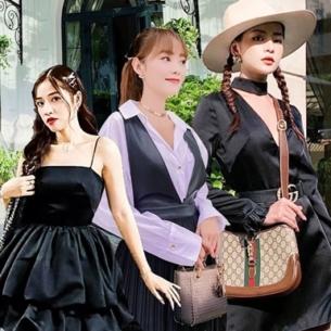 Ngắm street style sao Việt học cách mix trang phục đen trắng thời thượng