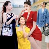 Street style sao Việt tuần qua: Hồ Ngọc Hà khéo giấu bụng bầu – Hương Giang khoe dáng cực phẩm