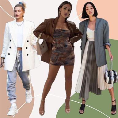 Áo blazer và muôn kiểu biến tấu phong cách sành điệu mùa Thu Đông 2020