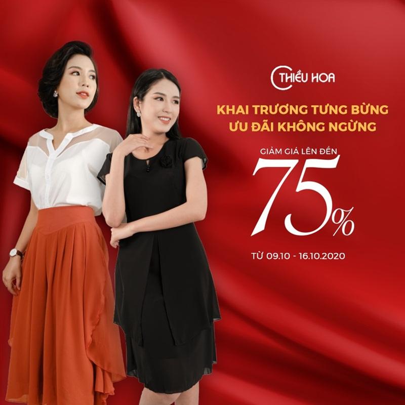 Thời trang Thiều Hoa chính thức khai trương chuỗi cửa hàng tại Hồ Chí Minh