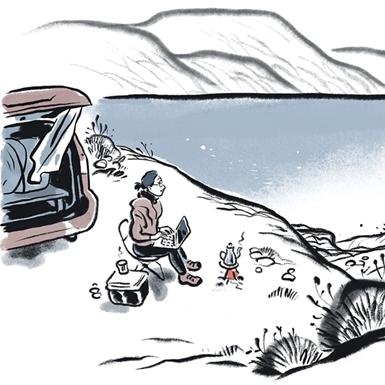 Khải Đơn: Từ sóng biển tới rừng xa hay tự sự của một digital nomad