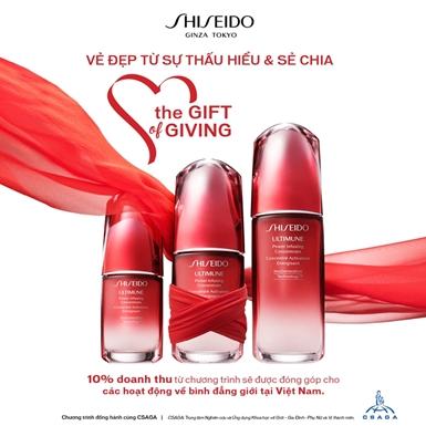 """Shiseido truyền năng lượng tích cực cho phụ nữ với dự án """"Vẻ đẹp đến từ sự thấu hiểu và sẻ chia"""""""