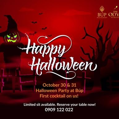 Halloween tại The Odys Boutique Hotel: Đêm của những quyến rũ ma mị đã quay trở về