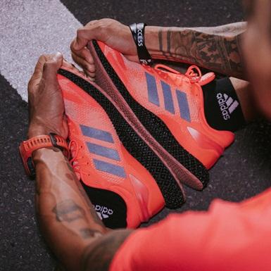 adidas 4D – Kỷ nguyên mới của công nghệ đế giày thể thao