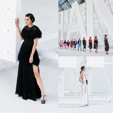 """NTK Virginie Viard """"triệu hồi"""" vẻ quyến rũ của những nữ minh tinh màn bạc trong BST Chanel Xuân Hè 2021"""