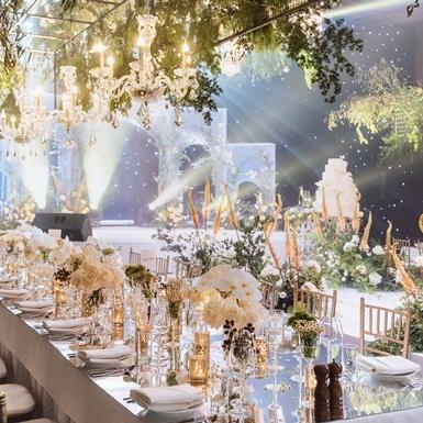 Thể hiện sự tinh tế và sành điệu trong ẩm thực tiệc cưới