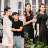 Hoa hậu Ngọc Hân cùng chị em Á hậu Trà My – Thanh Tú rủ nhau shopping ủng hộ NTK Hà Duy