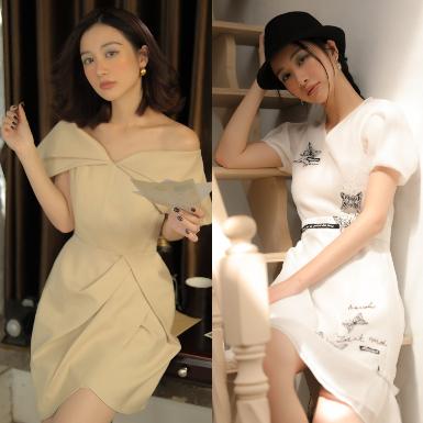 Ngắm Jun Vũ thả dáng đẹp mê mẩn trong những thiết kế mới nhất của The Maven
