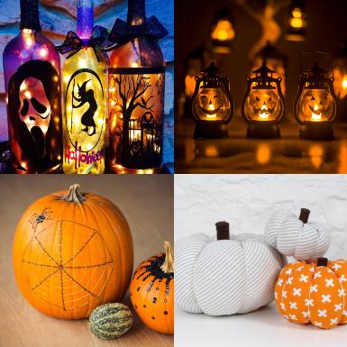 Tự tay trang trí lễ hội Halloween bằng những gợi ý làm đồ handmade này