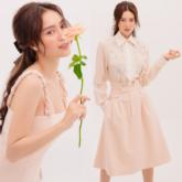Ninh Dương Lan Ngọc khoe vẻ đẹp ngọt ngào trong các thiết kế màu hồng pastel của NTK Nguyễn Phương Đông