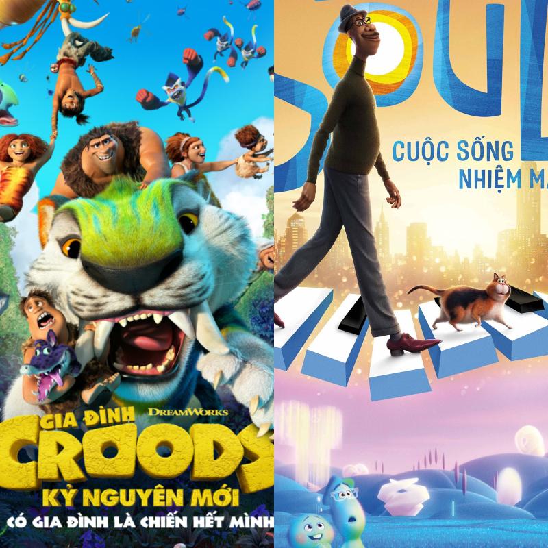 """""""Gia Đình Croods: Kỷ Nguyên Mới"""", """"Soul – Cuộc Sống Nhiệm Màu"""", """"Doraemon: Nobita và những bạn khủng long mới"""": 3 phim hoạt hình xuất sắc cuối nằm 2020"""