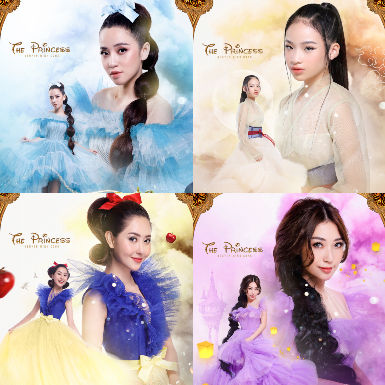 Puka, Khổng Tú Quỳnh hóa công chúa trong show thời trang cổ tích của NTK Nguyễn Minh Công