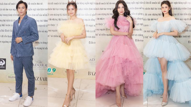 show the princess cua nguyen minh cong 3 Cả showbiz hóa thân thành công chúa – hoàng tử trên thảm đỏ The Princess của NTK Nguyễn Minh Công