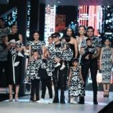 Diễm My dạo phố Hà Nội với trang phục sắc đen sang trọng