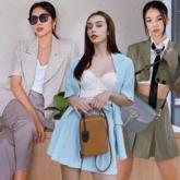 """Blazer, áo khoác mỏng """"thống trị"""" street style sao Việt ngày se lạnh"""