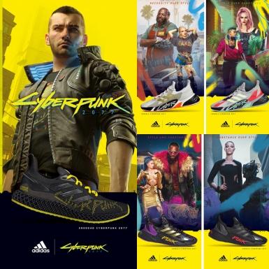 """adidas """"hớp hồn"""" các game thủ với BST hợp tác cùng Cyberpunk 2077"""