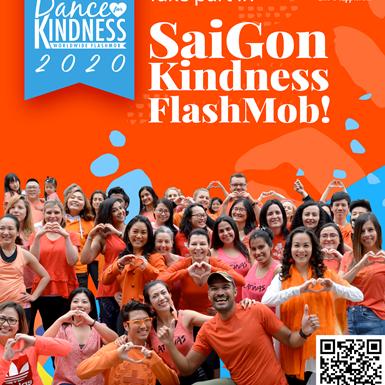 Sự kiện nhảy Flashmob tại Sài Gòn dự kiến thu hút hàng trăm người để gây quỹ cứu trợ miền Trung