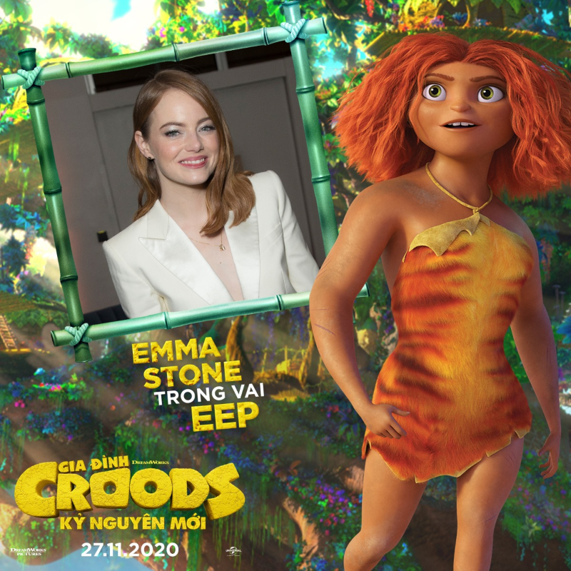 emma stone the croods a new age - 5