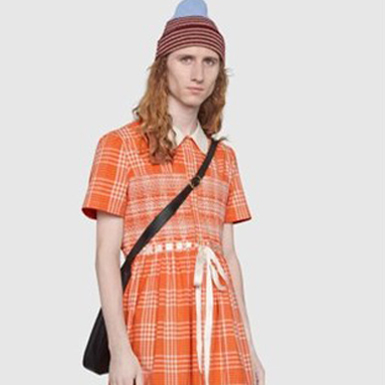 Gucci lại tiếp tục gây sốc với mẫu váy dành cho… đàn ông