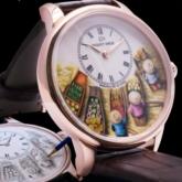 Đồng hồ Vacheron Constantin Overseas lịch vạn niên siêu mỏng lộ cơ chiến thắng tại giải thưởng GPHG 2020