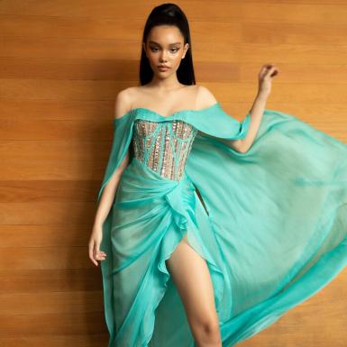 Chỉ mới 12 tuổi nhưng mẫu nhí Alexandra Matheson đã trở thành vedette tại các sàn diễn thời trang danh tiếng