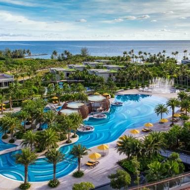 Khu nghỉ dưỡng Pullman Phú Quốc: Thiết kế mang hơi thở biển đảo bên bờ tây nam Phú Quốc