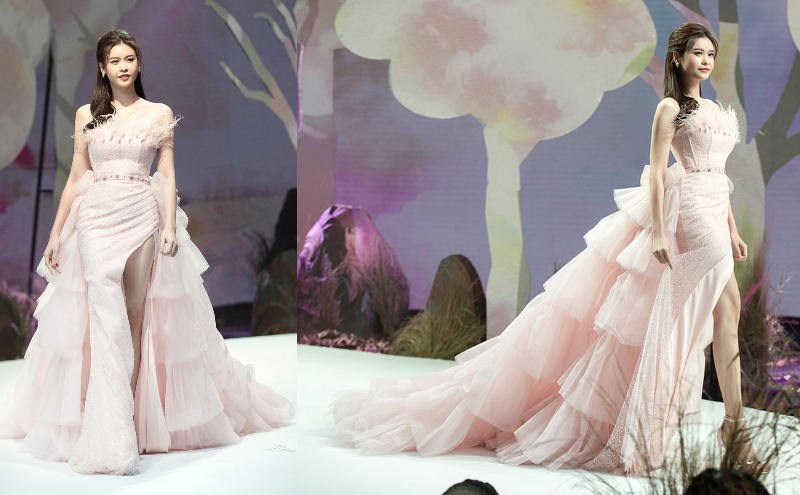 truong quynh anh catwalk cung be tho - 2