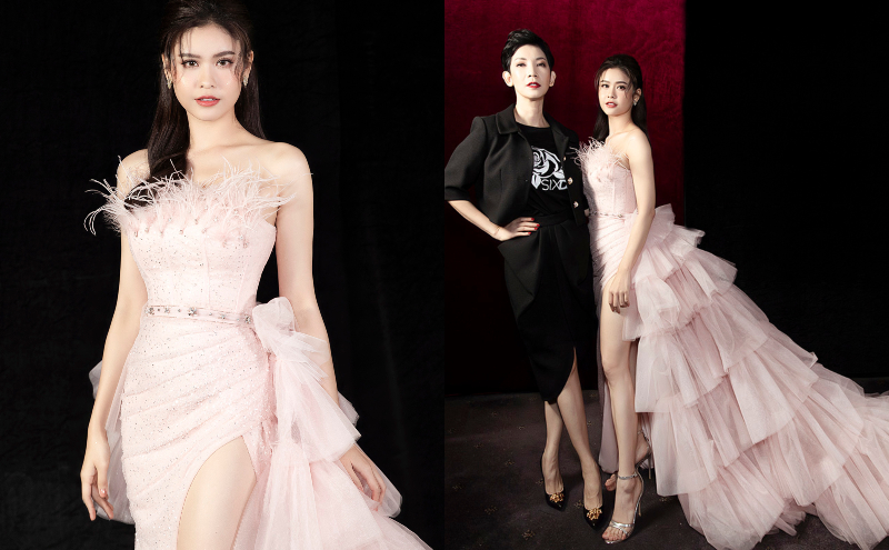 truong quynh anh catwalk cung be tho - 4