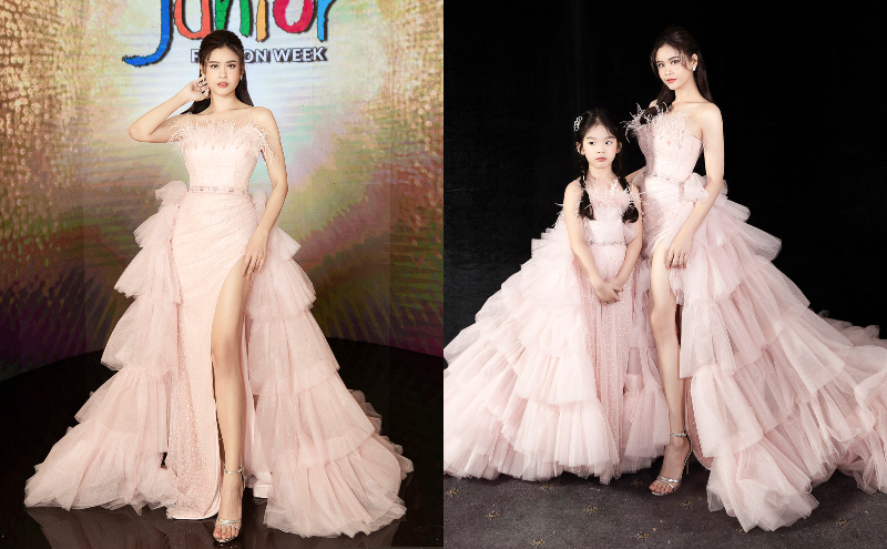 truong quynh anh catwalk cung be tho - 5