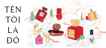 """""""Tên tôi là Đỏ"""": kiếm tìm những mùi hương đượm sắc đỏ"""