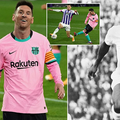 Siêu sao Lionel Messi thiết lập kỷ lục ghi bàn 'vô tiền khoáng hậu'