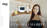 ĐẸP TOP 3 | Top 3 sản phẩm làm đẹp yêu thích của Băng Di