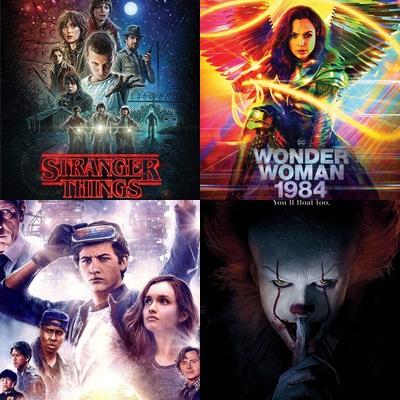 """Từ """"Stranger Things"""" đến """"Wonder Woman 1984"""": Nguồn cảm hứng thập niên 80 đang lan tỏa mạnh mẽ tại Hollywood"""