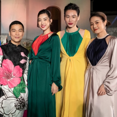 """Mỹ nhân Việt hóa thân thành những """"đào nương sơn cước"""" dự show thời trang của NTK Adrian Anh Tuấn"""