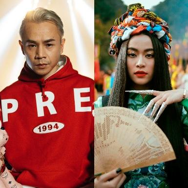 Binz, Hoàng Thùy Linh lọt top đề cử tại giải Âm nhạc Cống hiến 2020
