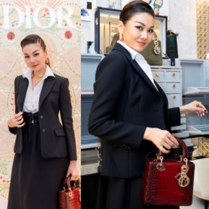 """Thanh Hằng tỏa sáng với khí chất """"womanboss"""" ngời ngời tại sự kiện của Dior ở Hà Nội"""