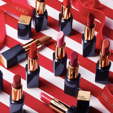 Có gì trong BST mỹ phẩm đỏ rực đẹp nhức nhối của Estée Lauder mùa lễ hội năm nay?