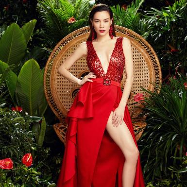 Lấy lại vóc dáng chuẩn sau sinh, Hồ Ngọc Hà gợi ý muôn kiểu mặc đẹp mùa Giáng Sinh