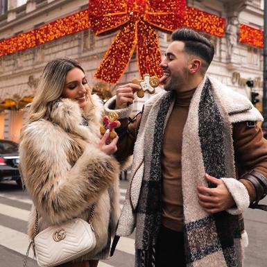"""5 gợi ý phối đồ Giáng sinh cho các cặp đôi """"dễ như bỡn"""""""