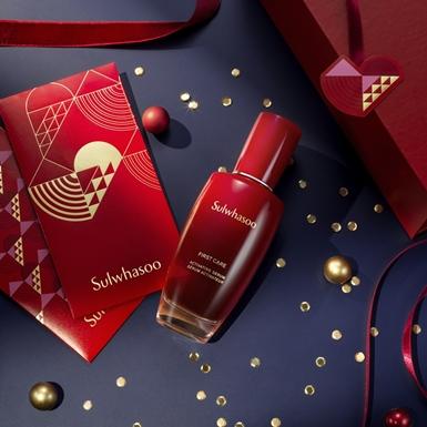 Phiên bản đỏ rực dành cho mùa xuân 2021 của tinh chất nổi tiếng Sulwhasoo First Care Activating Serum