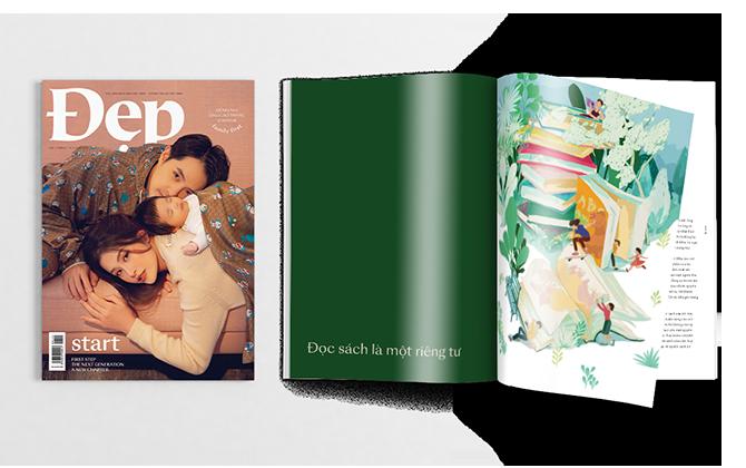 Tạp chí Đẹp số tháng 1&2