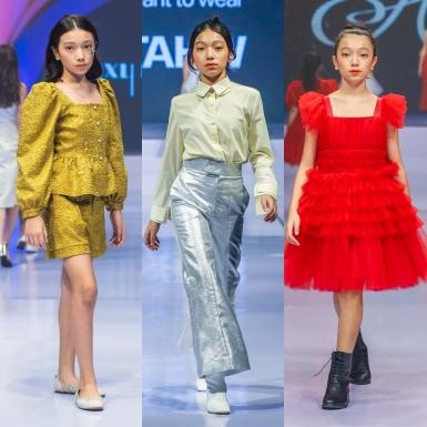 """Mẫu nhí lai Đan Mạch gây ấn tượng với màn """"chào sân"""" tại International Fashion Runway"""