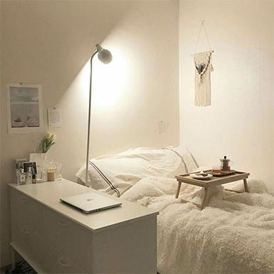 Thử tài biến hóa phòng ngủ lãng mạn hệt như bước ra từ phim Hàn