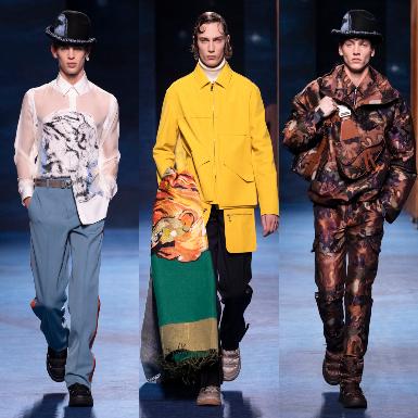 BST Dior Men Thu Đông 2021: Khi tinh hoa Haute Couture kết hợp cùng hội họa đương đại trong thiết kế thời trang nam giới