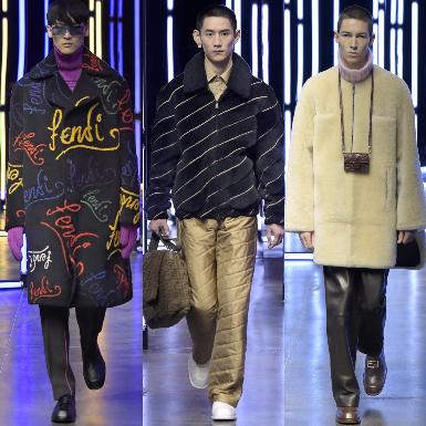 """BST Fendi Thu Đông Nam 2021: Sắc màu thời trang tái định nghĩa khái niệm """"bình thường mới"""""""
