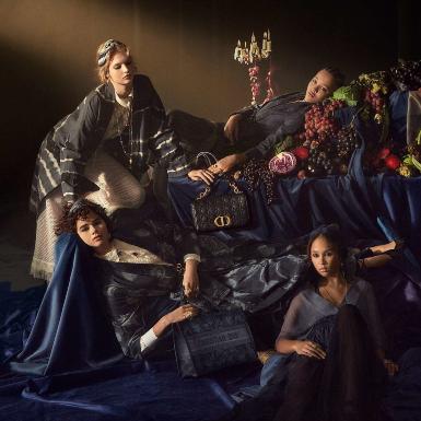 NTK Maria Grazia Chiuri mang cảm hứng nghệ thuật thời Phục Hưng vào chiến dịch quảng bá BST Dior Xuân Hè 2021